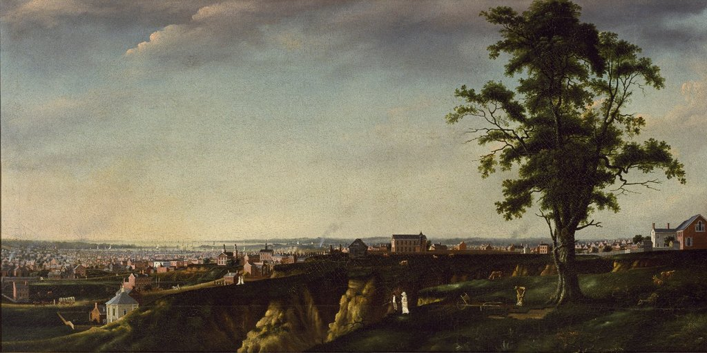 View of Baltimore from Chapel Hill