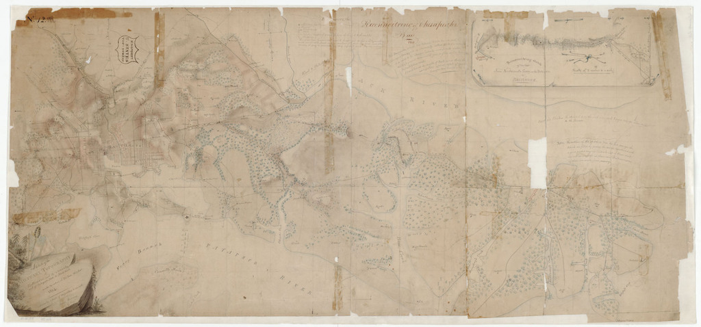 A Sketch of the Military Topography of Baltimore and its Vicinity and of Patapsco Neck to North Point, 1814